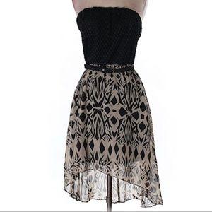 As U Wish | highlow colorblock dress